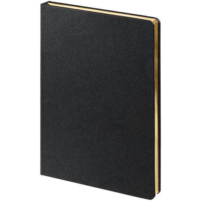 Ежедневник недатированный Saffian, размер 15х21 см (формат A5), цвет чёрный