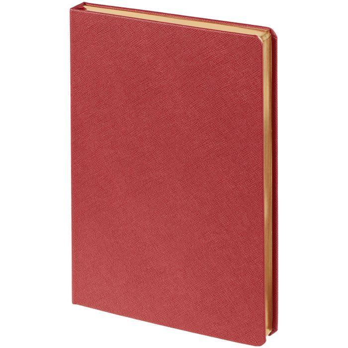 Ежедневник недатированный Saffian, размер 15х21 см (формат A5), цвет красный