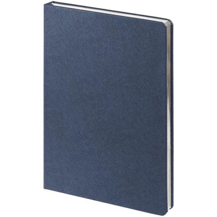 Ежедневник недатированный Saffian, размер 15х21 см (формат A5), цвет синий