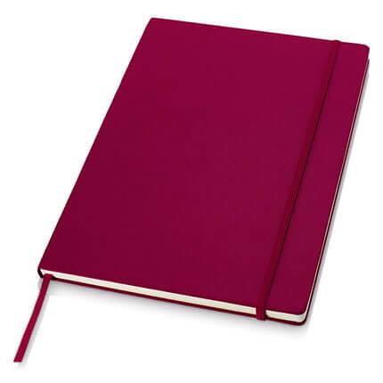 Классический деловой блокнот формата А4, цвет бордовый