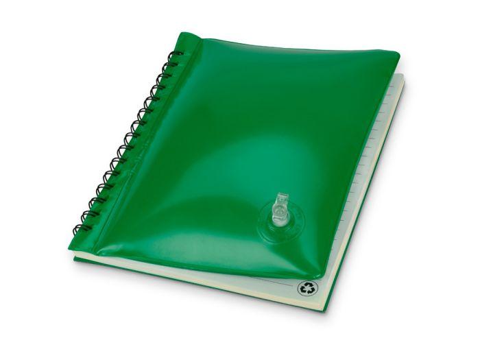 "Блокнот ""Малокен"", формат А5, цвет зелёный"