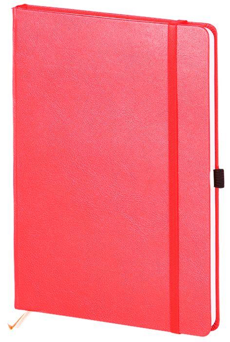 """Скетчбук с резинкой под ручку (бренд InFolio) коллекция """"Euro business"""", размер 15х21 см, переплёт твердый, цвет красный"""