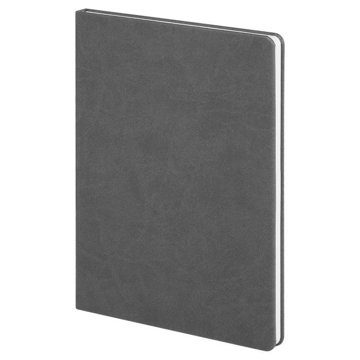 Блокнот Scope, в линейку, размер 15,5х21 см (формат A5), цвет серый