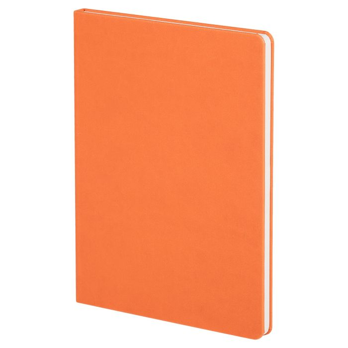 Блокнот Scope, в линейку, размер 15,5х21 см (формат A5), цвет оранжевый