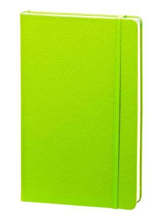 """Записная книжка """"Lifestyle"""" (бренд InFolio), формат A5, переплёт твердый с резинкой, цвет салатовый"""