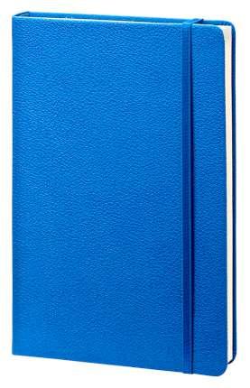 """Записная книжка """"Lifestyle"""" (бренд InFolio), формат A5, переплёт твердый с резинкой, цвет синий"""
