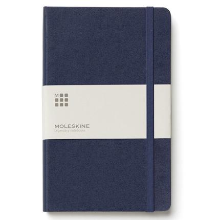 Записная книжка Classic, формат A6 (блок в линейку), цвет синий