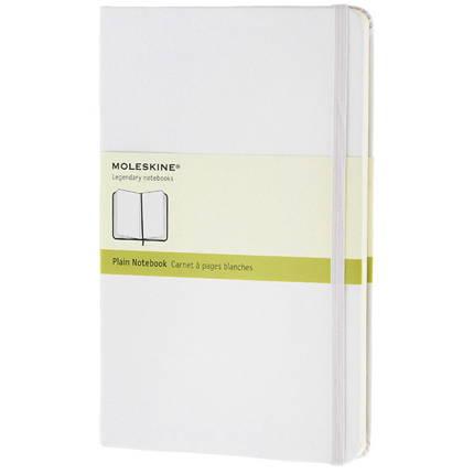 Записная книжка Classic, формат A5 (блок нелинованный), цвет белый