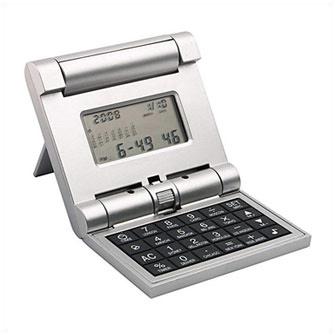 """Калькулятор-трансформер с часами, """"мировым временем"""", календарем, будильником и таймером"""