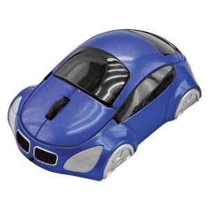 """Мышь компьютерная оптическая """"Автомобиль"""", цвет синий"""