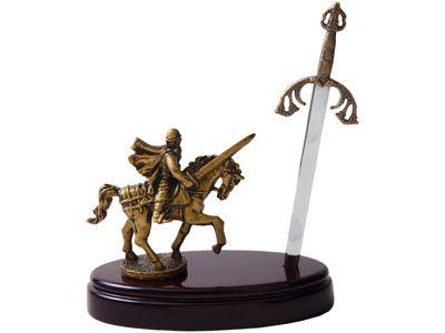 """Нож на подставке """"Сэр Ланселот"""""""