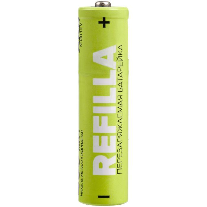 """Набор перезаряжаемых батареек """"Refilla"""" AA, 1000 мАч"""