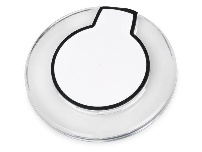 Беспроводная зарядка Pod со светодиодной подсветкой, белый