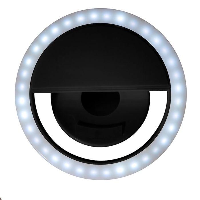 Подсветка для селфи SPOTLIGHT, цвет чёрный
