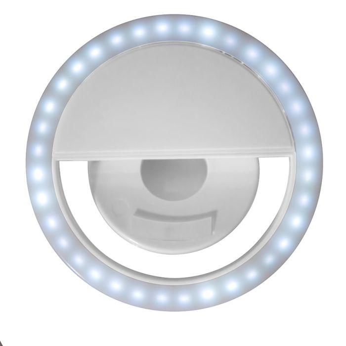 Подсветка для селфи SPOTLIGHT, цвет белый