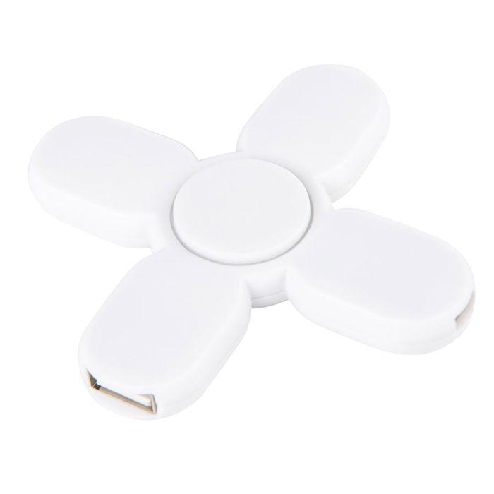 USB-разветвитель SPINNER, 3 порта, цвет белый