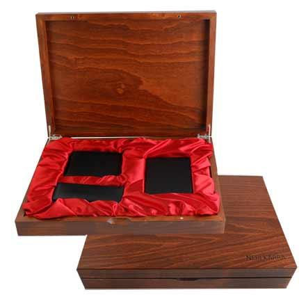 Мужской подарочный набор Neri Karra из 3 предметов, чёрный. Корпоративная коллекция