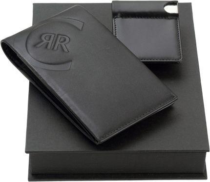Подарочный набор Cerruti 1881: портмоне-визитница с флеш-картой USB 2.0 на 4 Гб