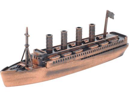 """Набор """"Морской лайнер"""": точилка для карандашей и 3 карандаша в подарочной упаковке"""