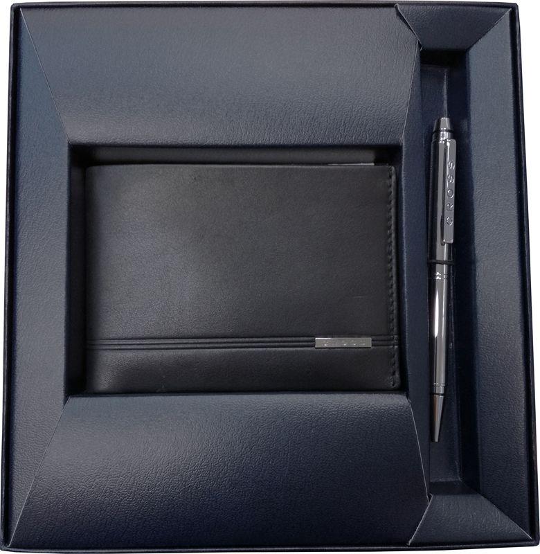 Набор Cross: портмоне Classic Century с шариковой ручкой