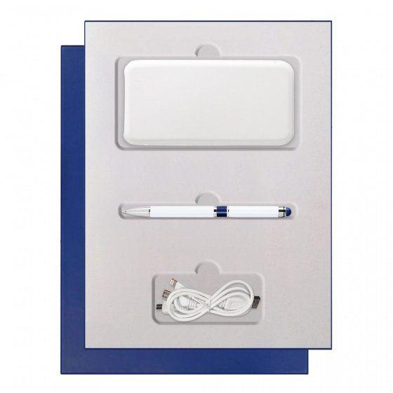 Подарочный набор Portobello Grand: Power Bank и ручка, белый