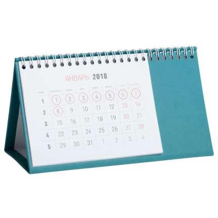 Календарь настольный Brand, цвет бирюзовый