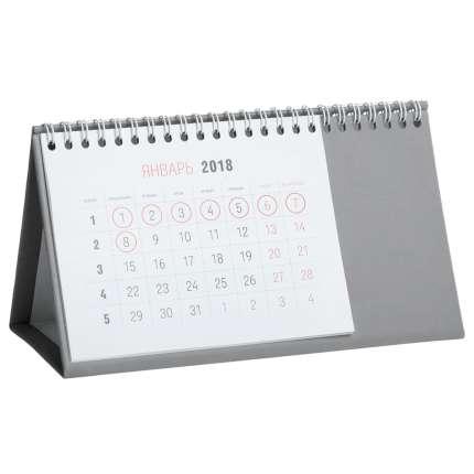 Календарь настольный Brand, цвет серый