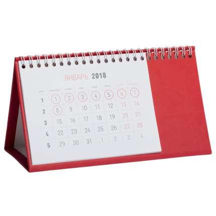 Календарь настольный Brand, цвет красный