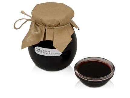 Варенье из лесной черники в подарочной обертке