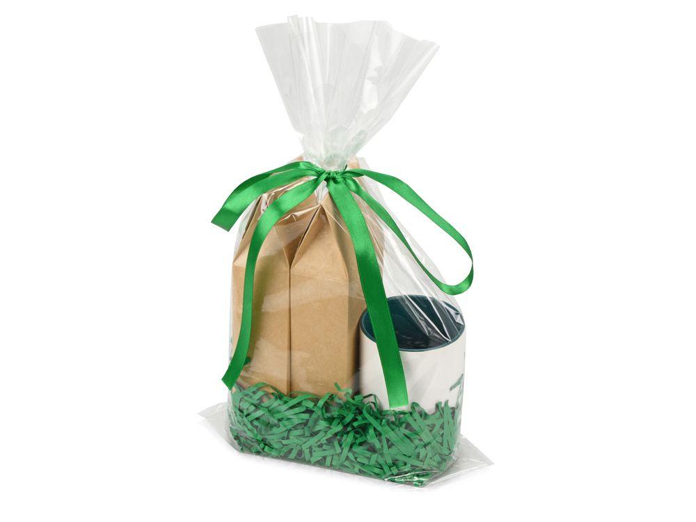 """Подарочный набор """"Tea room"""" с двумя видами чая, зелёный"""