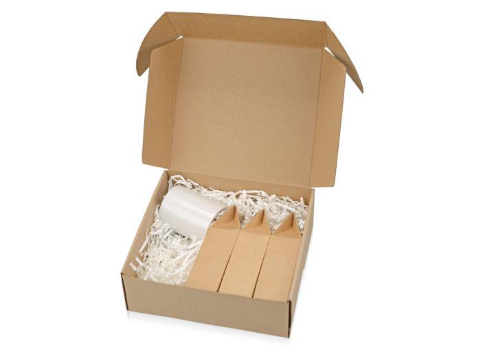 """Подарочный набор """"Tea chest"""" с тремя видами чая, белый"""