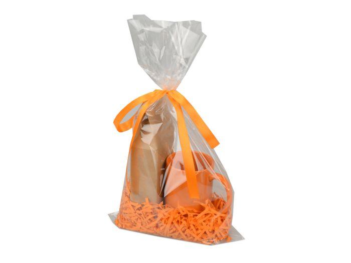 """Подарочный набор """"Kvelly"""" с чаем, цвет оранжевый"""