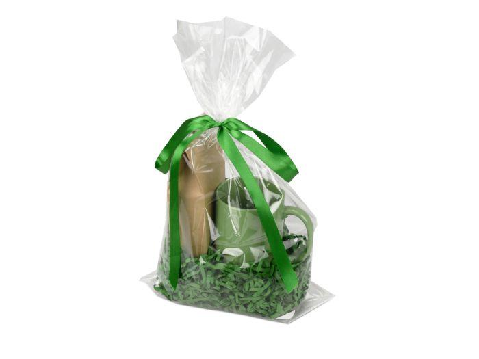 """Подарочный набор """"Kvelly"""" с чаем, цвет зелёный"""