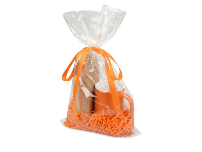 """Подарочный набор """"Mattina"""" с кофе, цвет оранжевый"""