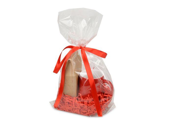 """Подарочный набор """"Mattina"""" с кофе, цвет красный"""