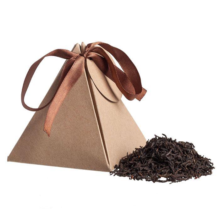 Чай Breakfast Tea в пирамидке, цвет крафт