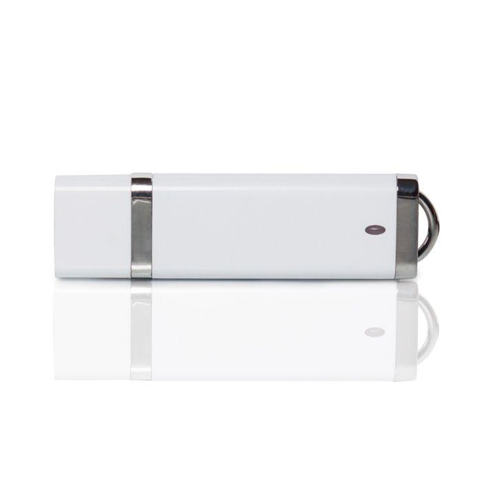 Флешка PL003 (белый) с чипом 1 гб