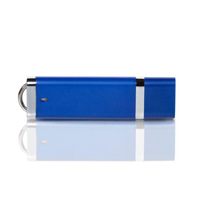 Флешка PL003 (синий) с чипом 1 гб