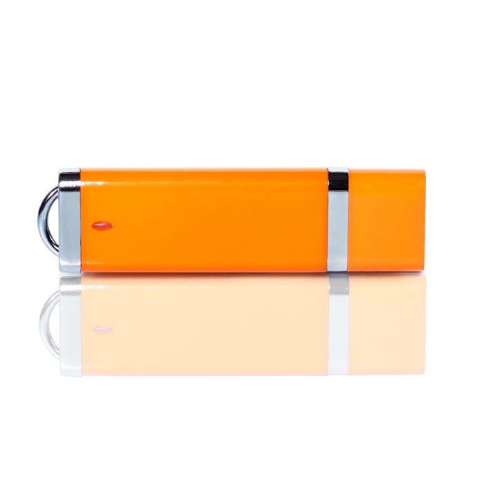 Флешка PL003 (оранжевый) с чипом 1 гб