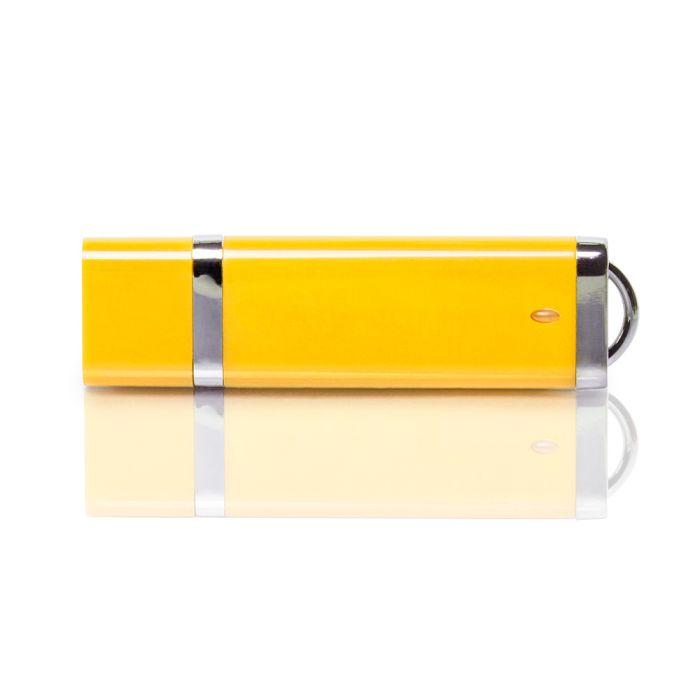 Флешка PL003 (желтый) с чипом 1 гб