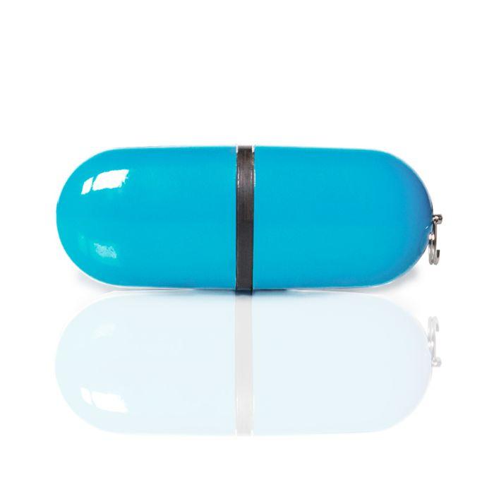 Флешка PL004 (голубой) с чипом 1 гб