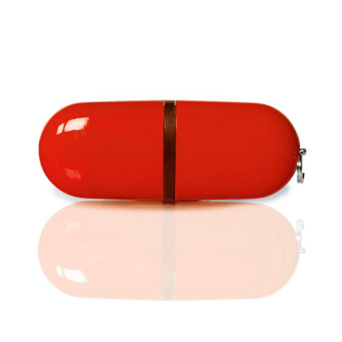 Флешка PL004 (красный) с чипом 1 гб