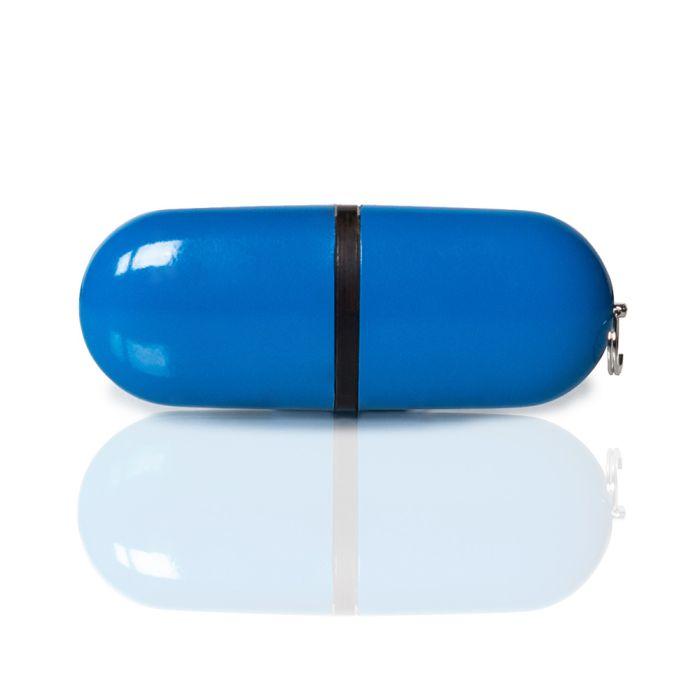 Флешка PL004 (синий) с чипом 1 гб