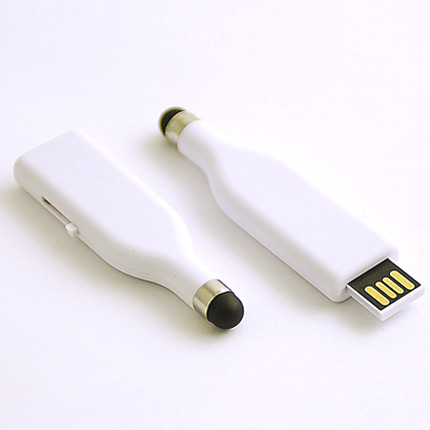 "USB-Flash накопитель (флешка) ""Stylus"",  4 Gb. Белый"