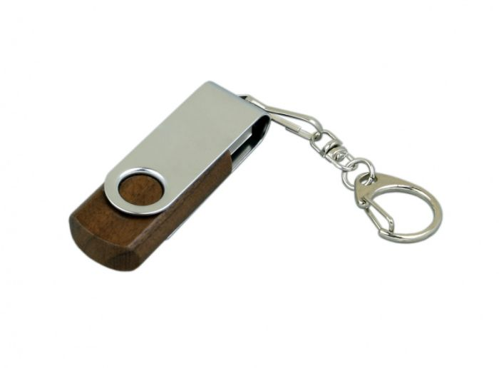 Флеш-накопитель промо поворотный механизм 4Гб,  Красный, USB2.0