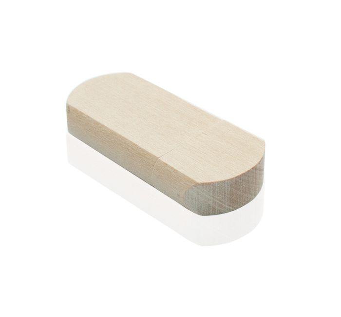 Флешка DR009 (липа натуральная) с чипом 4 гб
