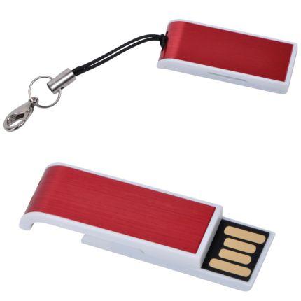 """USB flash-карта """"Slider"""" ( 8 Gb), цвет красный"""