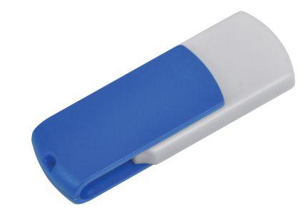 "USB flash-карта ""Easy"" ( 8 Gb), цвет белый/синий"