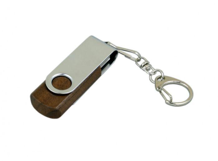 Флеш-накопитель промо поворотный механизм 8Гб,  Красный, USB2.0