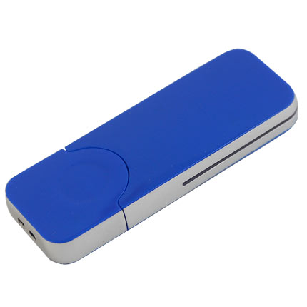 "USB-Flash накопитель (флешка) ""BIG"", 16 Gb, с красной подсветкой. Синий"